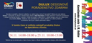 Dulux design farby kusnir kosice november